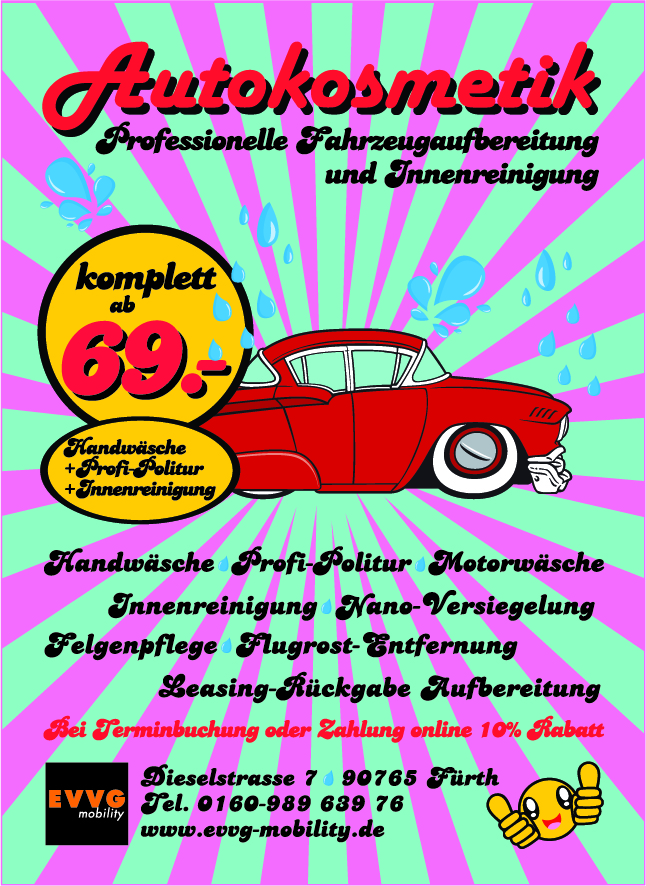 Autokosmetik - Autoaufbereitung Fürth